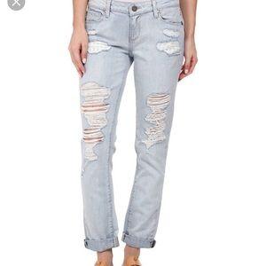 [Paige] Jimmy Jimmy Boyfriend Skinny Jeans